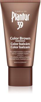 Plantur 39 Color Brown Koffein Balsam für braune Farbnuancen des Haares