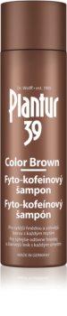 Plantur 39 Color Brown Kofeiini Hiustenpesuaine Ruskeille Hiuksille