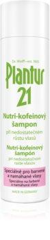 Plantur 21 Nutri-koffein-schampo För skadat och färgat hår
