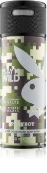 Playboy Play it Wild deodorant spray para homens 150 ml