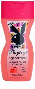 Playboy Generation crema de ducha para mujer 250 ml