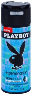 Playboy Generation Skin Touch déo-spray pour homme 150 ml