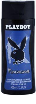 Playboy King Of The Game sprchový gel pro muže