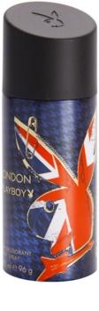 Playboy London desodorizante em spray para homens