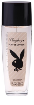 Playboy Play It Lovely desodorizante vaporizador para mulheres 75 ml