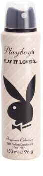 Playboy Play It Lovely deodorant spray para mulheres 150 ml
