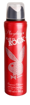 Playboy Play It Rock deodorant Spray para mulheres 150 ml