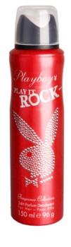 Playboy Play It Rock deospray pro ženy 150 ml