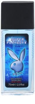 Playboy Super Playboy for Him desodorante con pulverizador para hombre 75 ml