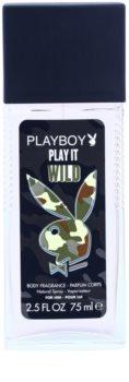 Playboy Play it Wild desodorante con pulverizador para hombre