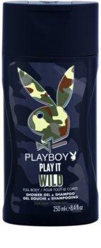 Playboy Play it Wild gel za tuširanje za muškarce 250 ml