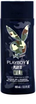 Playboy Play it Wild sprchový gél pre mužov