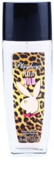 Playboy Play it Wild desodorante con pulverizador para mujer 75 ml