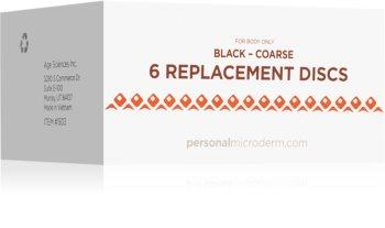 PMD Beauty Replacement Discs Black Coarse Disques de rechange pour aspirateur à points noirs