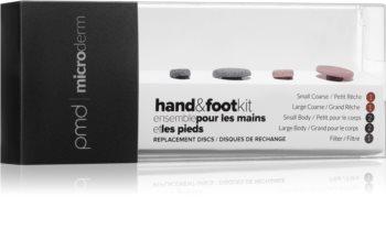 PMD Beauty Replacement Discs Hand & Foot Kit náhradní mikrodermabrazivní disky