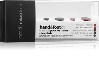PMD Beauty Replacement Discs Hand & Foot Kit Replacement Discs for Vacuum Skin Cleaner