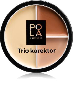 Pola Cosmetics Trio Master Krämig concelear