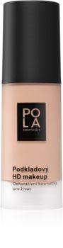 Pola Cosmetics Velvet Matt Mattierendes Foundation für die normale bis fettige Gesichtshaut