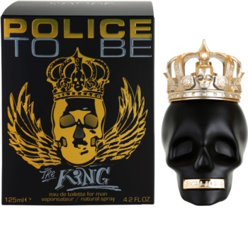 Police To Be The King Eau deToilette para homens