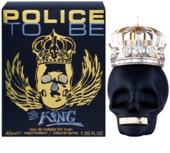 Police To Be The King Eau de Toilette uraknak