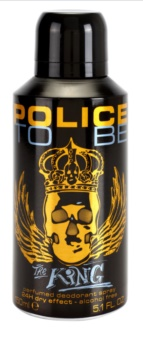 Police To Be The King deodorant Spray para homens 150 ml