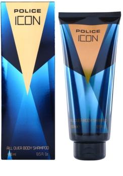 Police Icon gel de ducha para hombre