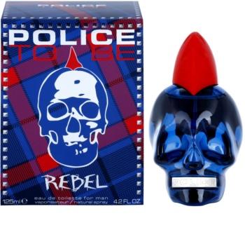 Police To Be Rebel Eau de Toilette für Herren