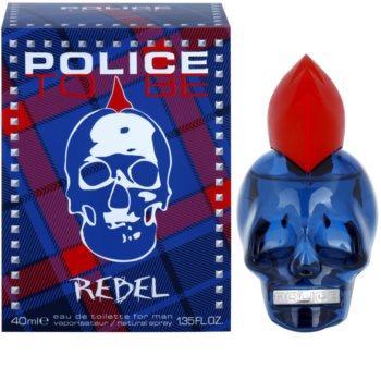 Police To Be Rebel toaletní voda pro muže