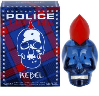 Police To Be Rebel туалетная вода для мужчин