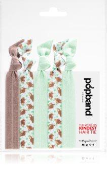 Popband Hair Tie Sloth Elastice pentru par