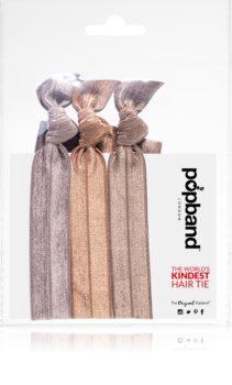 Popband Headbands Brown multifunkční čelenka do vlasů