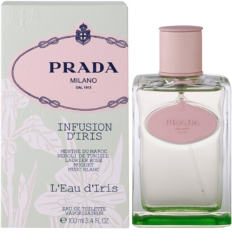 Prada Les Infusions Infusion d'Iris L'Eau d'Iris eau de toilette para mulheres 100 ml edição limitada