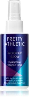 Pretty Athletic Workout Glow lozione tonica detergente rinfrescante