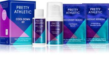 Pretty Athletic Cool Down kit di cosmetici da donna