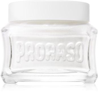 Proraso White крем преди бърснене за чувствителна кожа на лицето