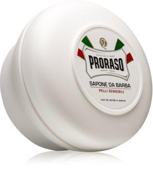 Proraso White borotvaszappan az érzékeny arcbőrre