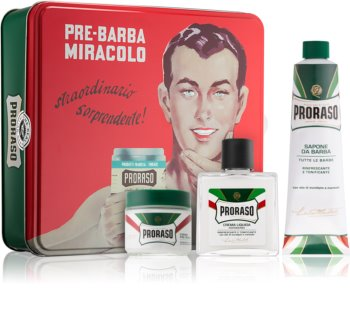 Proraso Green Barbersæt II. til mænd
