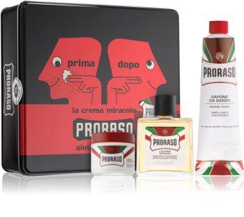 Proraso Red Barbersæt I. til mænd