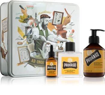 Proraso Wood and Spice Sminkset I. (för män) för män