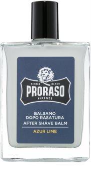 Proraso Azur Lime balsamo idratante after-shave texture nutriente