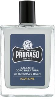 Proraso Azur Lime baume après-rasage hydratant texture nourrissante
