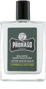 Proraso Cypress & Vetyver hidratáló borotválkozás utáni balzsam tápláló textúra