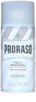 Proraso Pelli Sensibili mousse à raser peaux sensibles