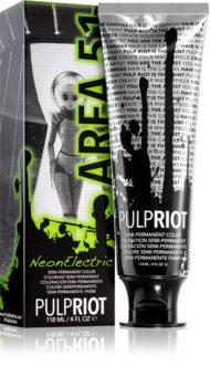 Pulp Riot Neon Electric перманентна фарба для волосся