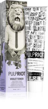 Pulp Riot Toner boja za toniranje kose za posvijetljenu ili kosu s pramenovima