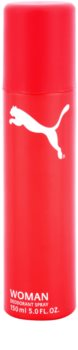 Puma Red and White deospray da donna