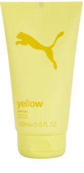 Puma Yellow Woman gel de duche para mulheres 150 ml