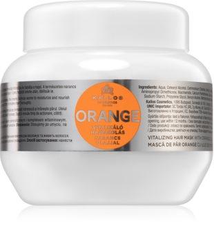 Kallos Orange Hydrating Hair Mask