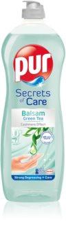 Pur Secrets of Care Green Tea препарат за миене на съдове