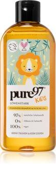 pure97 Kids Löwenstark Hiustenpesuaine Ja Suihkugeeli 2 in 1 Lapsille